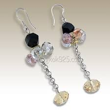 trendy earrings wholesale trendy fashion earrings jewelry bangkok925 thailand