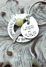 In Memory Of Keychains Amazon Com Memorial Keychain Personalized Memorial Gift In