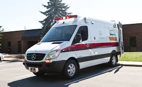 mercedes benz brings a u201ctraumahawk u201d sprinter ambulance to the c d