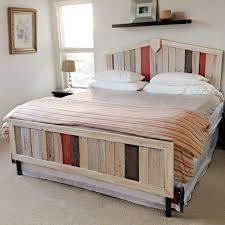 How To Make A Platform Bed From Pallets by Building A Platform Bed Out Of Wooden Pallets Woodworking Design
