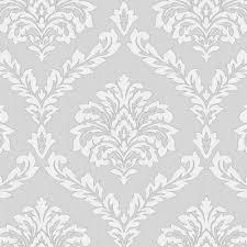 fine decor fine decor cavendish damask wallpaper grey fd40986