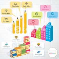 education infographic template and design element set vector
