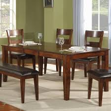 Wooden Dining Room Sets by Holland House 1279 Modern Solid Mango Wood Dining Table Miskelly