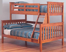 Awesome Forte Trio Timber Bunk Bed Bedroom Furniture - Timber bunk bed