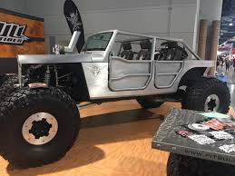 hauk jeep this monster at the sema show jeep