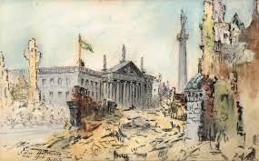 Flag Of Dublin Ireland Edmond Delrenne Witness To 1916 Irish Arts Review