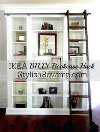Bookcase Lowes Wire Shelf Brackets Lowes Liner Target Billy Bookcase Hack Menards