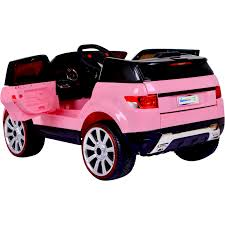 Midi Hse Range Rover Style 12v Child U0027s Ride On Jeep Pink Ebay