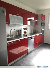 meuble cuisin meuble de cuisine laquee brillant 7 elements neuve a vendre