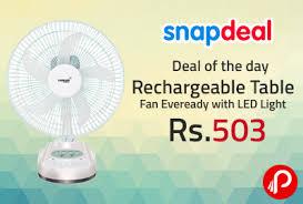 rechargeable fan online shopping table fan eveready best online shopping deals daily fresh deals