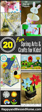 the ultimate list of 20 spring arts and crafts for kids happy