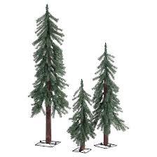 2ft 3ft 4ft unlit artificial tree alpine spruce 3ct