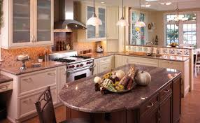 kitchen islands elegant u shape modern kitchen brown wooden