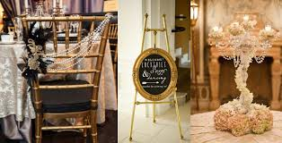 great gatsby themed wedding great gatsby wedding styling from gold chiavari chairs gold