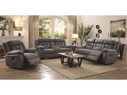 Living Room Furniture Groups Coaster Houston Reclining Living Room Dunk Bright