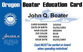 oregon boating license boat safety course boat ed
