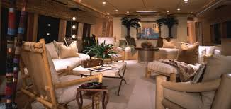 Home Yacht Interiors Design Home Of The Week Abbracci Yacht By Broward Marine And Marc