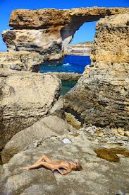 Azure Window Collapses Si Swimsuit Pays Tribute To Malta U0027s Azure Window