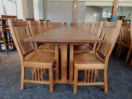 Mission Style Dining Room Set by Bolton Dining Commons University Architects