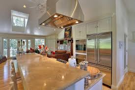 two level kitchen island 50 gorgeous kitchen designs with islands designing idea