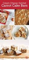 cream cheese swirled carrot cake bars recipe carrot cake bars