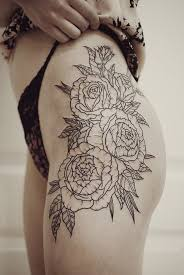 floral thigh designs ideas and meaning tattoos for you