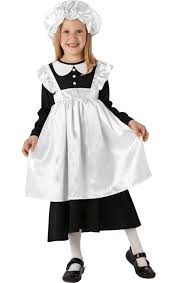 child victorian maid costume jokers masquerade