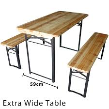 Wood Camping Table Oak Table With Steel Legs Mpfmpf Com Almirah Beds Wardrobes