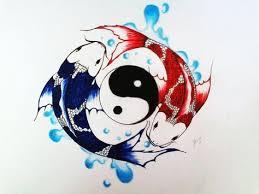 Ying Yang Tattoo Ideas 44 Best Koi Yin Yang Tattoos Images On Pinterest Yin Yang