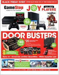 gamestop drops black friday week ad