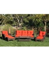 Red Patio Set by Deals On 6 Piece Patio Furniture Sets Are Going Fast