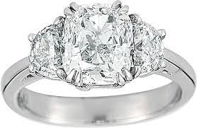 engagement rings 100 2 21ct cushion cut g si2 platinum engagement ring 100 329