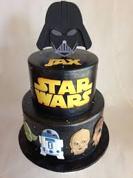 a vs evil wars dessert birthday cake wars fondant darth vader r2d2 yoda