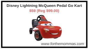 lighting mcqueen pedal car walmart com disney lightning mcqueen pedal go kart 59 reg 99 00