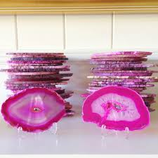 Place Cards Wedding Agate Slice Place Cards Wedding Prepping U2014 Lovelyfest Event Design