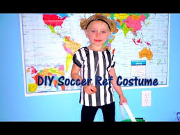 Soccer Referee Halloween Costume Diy Soccer Ref Costume Mommydani2