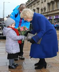 Flowersbybillbush Montreal Postal Code Map - camilla is presented with bouquets of flowers in hull daily mail
