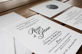 wedding invitations australia classic charcoal letterpress