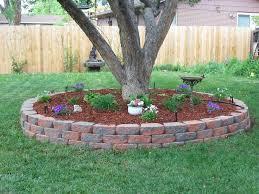 Tree Ideas For Backyard Landscaping Around Trees The Setup Installing A Masonry
