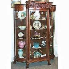antique curio cabinet with curved glass antique beveled glass curio cabinets cabinet glass