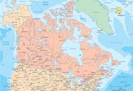 Map Of Canada Detailed Political Map Of Canada Ezilon Maps And The