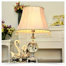 Bedside Table Lamp by Tuda 2017 New Classic Luxury Lighting Crystal Table Lamp For