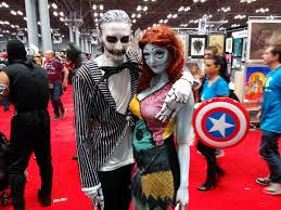 jack and sally cosplay from nycc pics