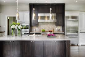 Transitional Pendant Lighting Galley Kitchen Ideas For A Transitional Kitchen With A Pendant