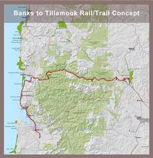 Cannon Beach Oregon Map by Updated Leaders Of Proposed Salmonberry Trail Between Tillamook