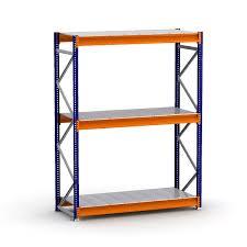 bulk rack shelf unit with steel decking shelving direct