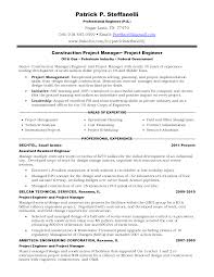 Calgary Resume Writers Construction Field Engineer Cover Letter