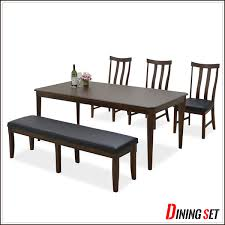 M S Dining Tables Ms 1 Rakuten Global Market 6 Seat Dining Table Benches Width
