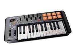 amazon black friday midi keyboards sale m audio oxygen 25 iv 25 key usb midi keyboard with 8 trigger pads