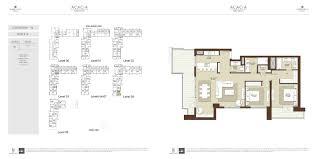 floor plans acacia at park heights dubai hills estate by emaar